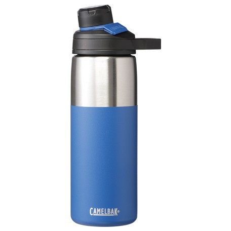Beverages stay perfectly hot or cold w/CamelBak Chute®